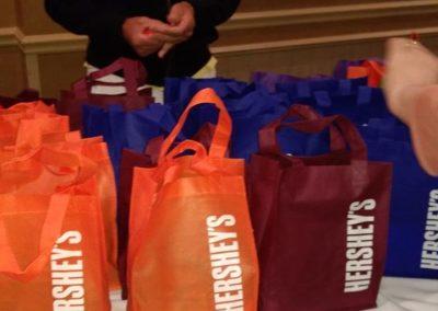 Hershey Goodie Bags at 2019 Wedding Cookie College