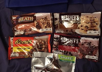 Hershey's Goodie Bags at the 2019 Wedding Cookie College