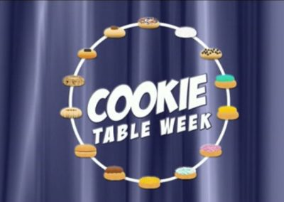 Cookie Table Week PTL