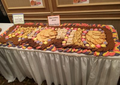 Giant Eagle Cookie Table