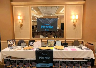 Palmer Pizzelle Irons Vendor Table