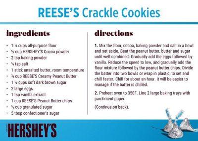 Reese Crackle Cookies 1