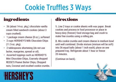 Cookie Truffles 3 ways 1